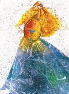 تابلو نقاشی زیبای طرح گواش-ایران