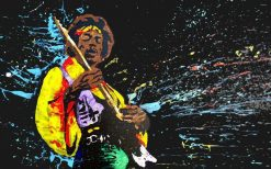 تابلو موسیقی -جیمی هندریکس1