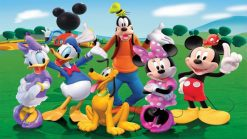 تابلو کارتون mickey mouse1