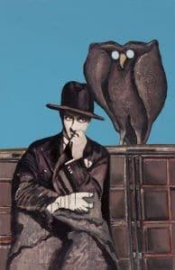 تابلو نقاشی بوف کور1