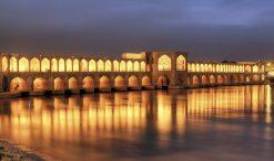تابلو پل خواجو اصفهان