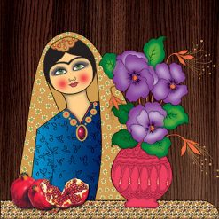 تابلو سنتی خاتون #1