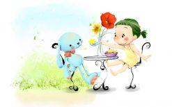 تابلو جدید وفانتزی اتاق کودک