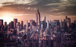 تابلو منظره نمایی از شهر نیویورک
