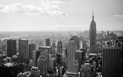 تابلو منظره شهر زیبای نیویورک 2