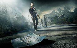 تابلو فیلم Walking Dead