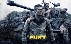 تابلو فیلم Fury