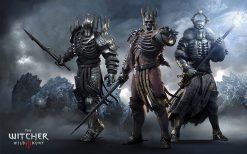 تابلو بازی کامپیوتری Witcher 3