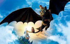 تابلو انیمیشن آموزش اژدها