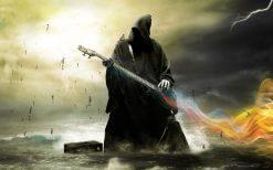 تابلو موسیقی -گیتار مرگ1