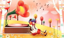تابلو فانتزی موسیقی اتاق کودک