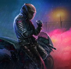 تابلو موتورسیکلت - Flashbacks1