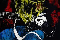 تابلو موسیقی -نوازنده گیتار1