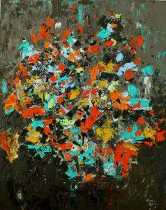 تابلو نقاشی مدرن- The intersection