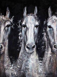 تابلو سه اسب