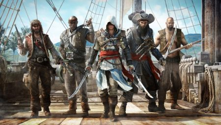 تابلو بازی کامپیوتری پرطرفدار assassins_creed_4_black_flag