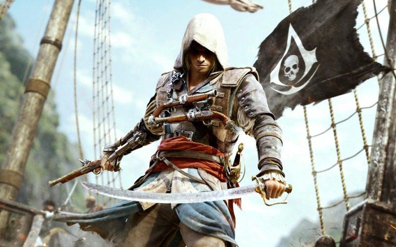 تابلو بازی کامپیوتری پرطرفدار Assassin's Creed:IV Black Flag1