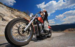 تابلو موتورسیکلت -biker1