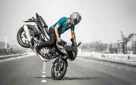 تابلو موتورسیکلت - stunts-biker