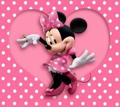 تابلو کارتون minnie-mouse