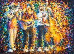 تابلو نقاشی-! miu Band