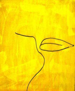 تابلو نقاشی مدرن میزبان