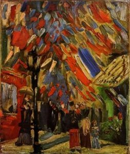 The Fourteenth of July Celebration in Paris