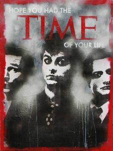 تابلو موسیقی -نقاشی مدرن و مفهومی گروه بیتلز