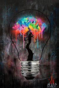 تابلو ایده های روشن-sage