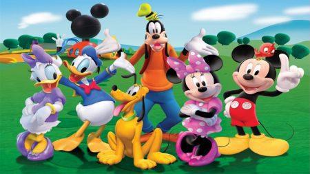 تابلو کارتون mickey mouse