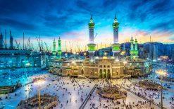 تابلو مذهبی-مسجدالحرام از نمایی زیبا