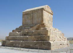 تابلو مقبره کوروش کبیر