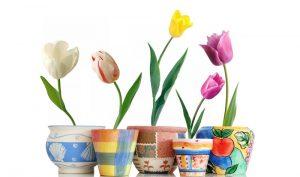 تابلو گلدانهای فانتزی