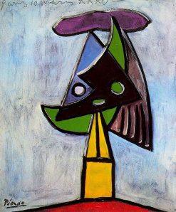 تابلو نقاشی سر دختر
