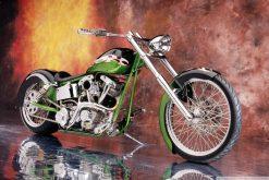 تابلو نقاشی موتورسیکلت 1