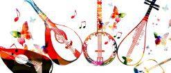 تابلو موسیقی -آلات موسیقی1