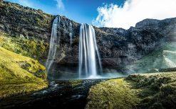 تابلو منظره آبشار