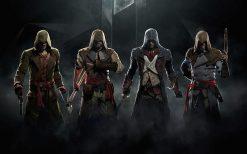 تابلو بازی کامپیوتری assassins creed