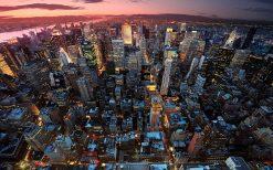 تابلو منظره عصر نیویورک