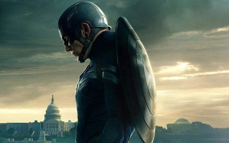 تابلو فیلم از شخصیت کاپیتان امریکا