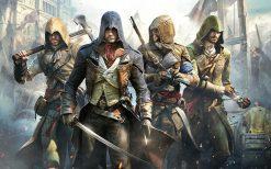 تابلو بازی کامپیوتری Assassin Creed #2