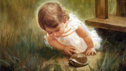 تابلو نقاشی -زندگی کودکان-طرح5-دونالد زولان 1