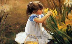 تابلو نقاشی -زندگی کودکان-طرح6-دونالد زولان1