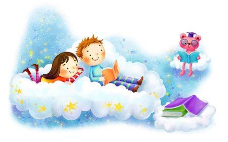 تابلو کودک-تد قصه گو