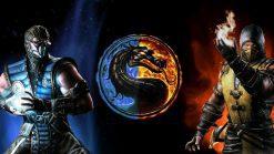 تابلو بازی کامپیوتری Mortal Kombat-the battle