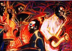 تابلو موسیقی - New Orleans quartet1