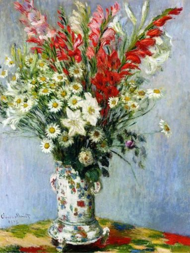 bouquet-of-gadiolas-lilies-and-dasies