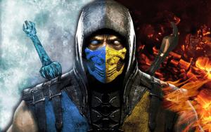 تابلو بازی کامپیوتری Mortal Kombat