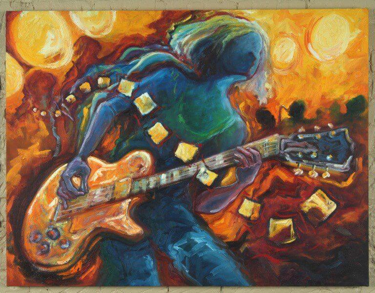 تابلو موسیقی -بازی با آتش1