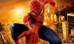 تابلو مرد عنکبوتی2